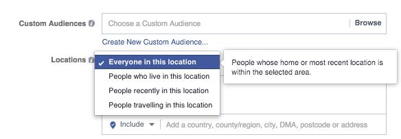 facebook ubicacion