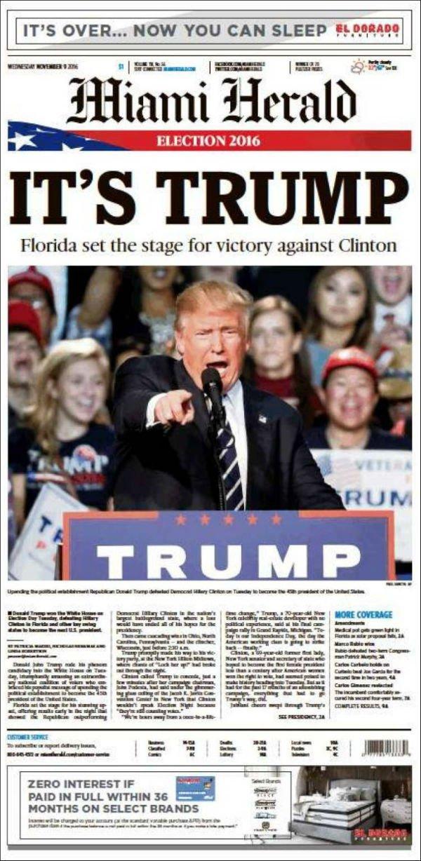 Florida fue uno de los estados clave que le otorgó el triunfo al republicano.